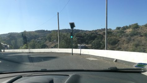 Ponte de Mertola - Semaforos
