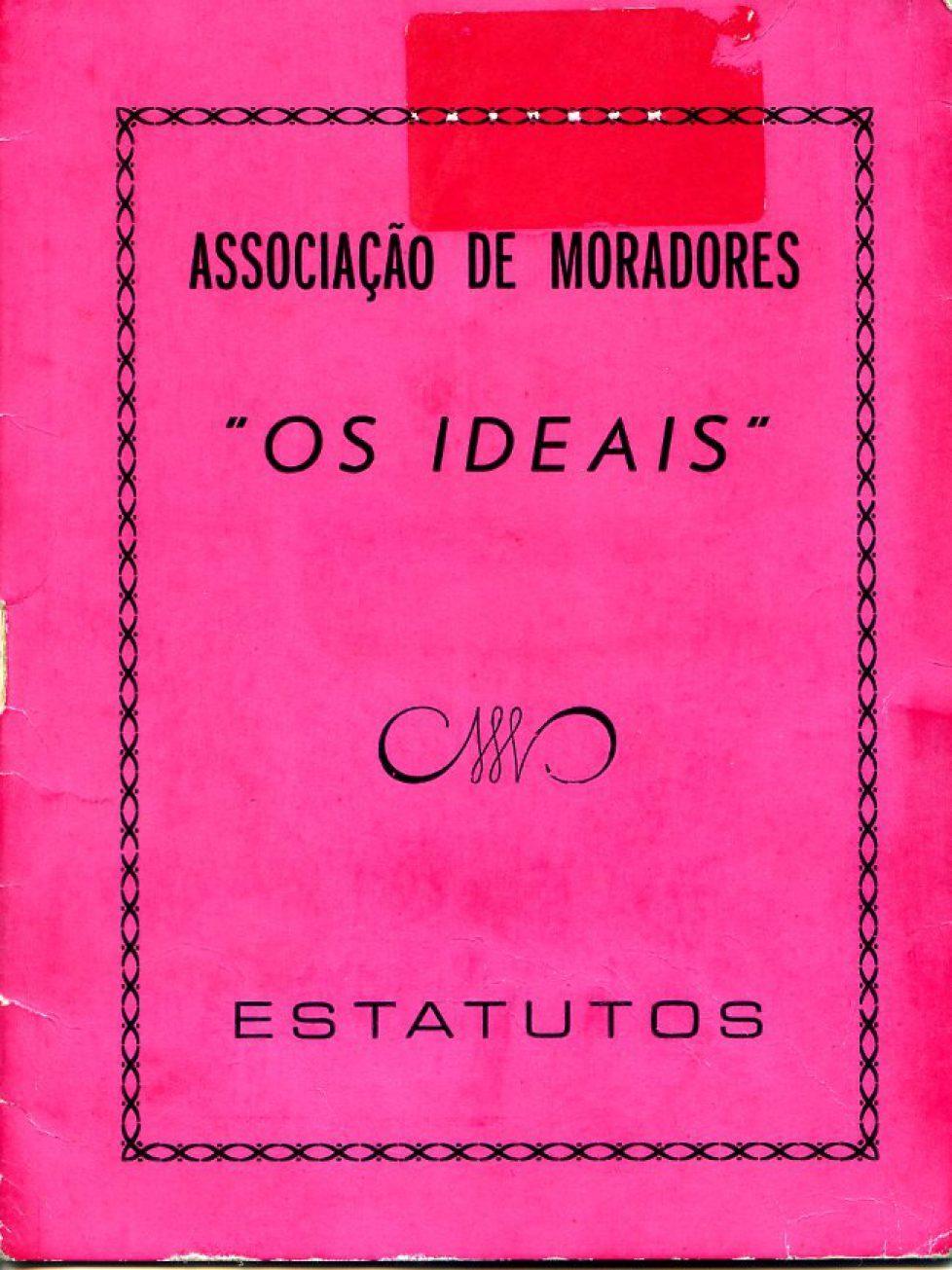 """1977 – Estatutos da Cooperativa """"Os Ideais"""""""