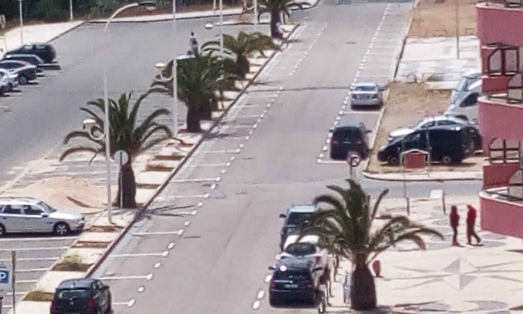 Estacionamento - Monte Gordo