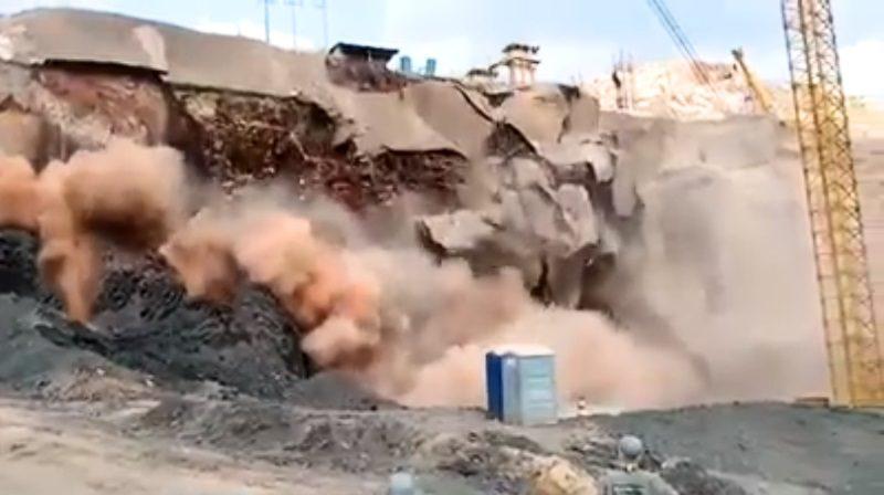 Barragem do Brumadinho rebenta no Brasil